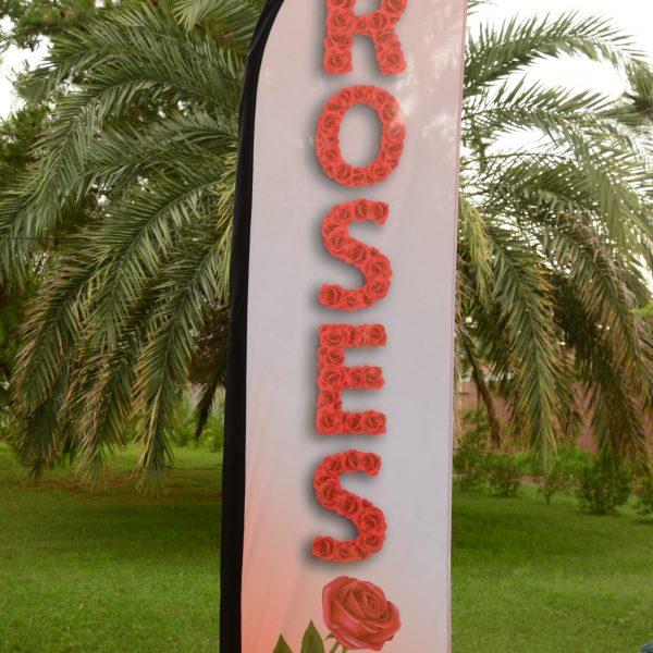 rose flag